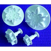 Plunger Edelweiss 4 pieces