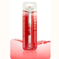 RD double side pen red