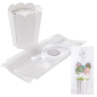 Wilton KIT design pot de fleurs pour support cakepops 2 pieces