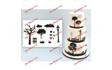 Patchwork Cutter Countryside Silhouette Set