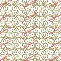 SK Designer Transfer Sheet -DESIGN BAROQUE OR- pcs