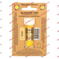 Poudre Sugarflair -edible blossom tint- jaune citron-- 7ml